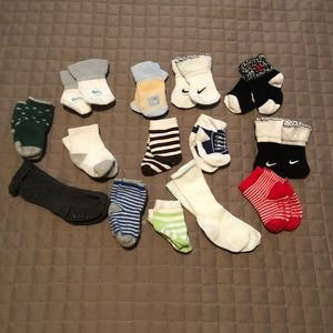 Other - 🌸 2/$12. Lot 0-3months socks